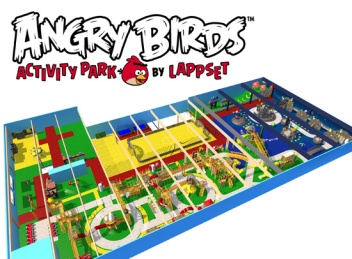 Angry Birds puisto Vuokatti